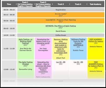 Programma EXPOQA15