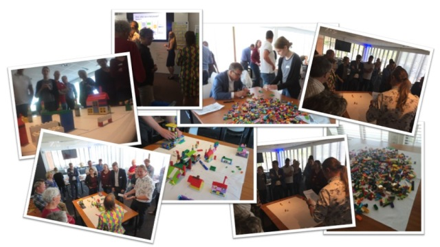 Foto collage Scaling Agile Game v01